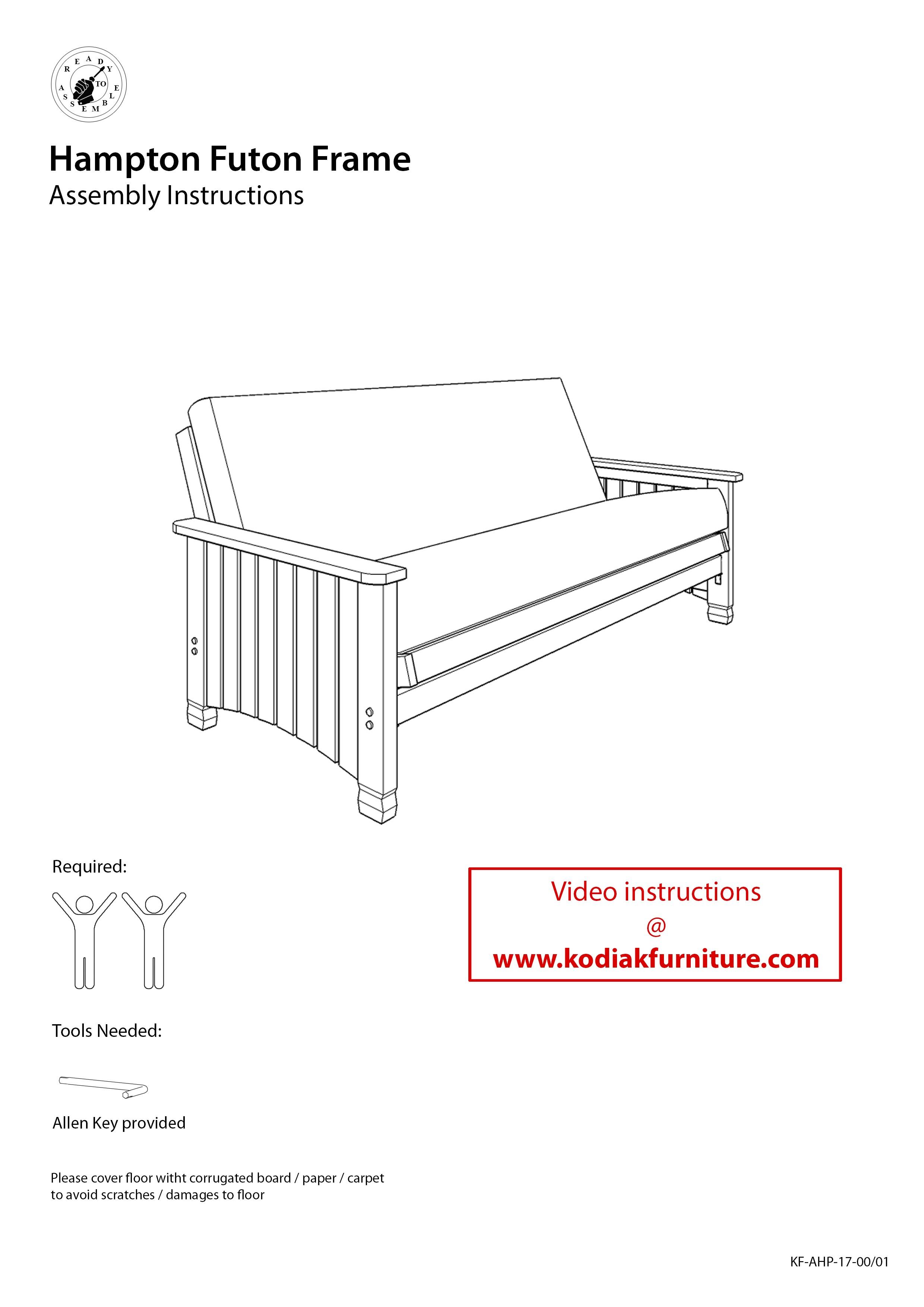Hampton Full Futon Frame | Kodiak Furniture